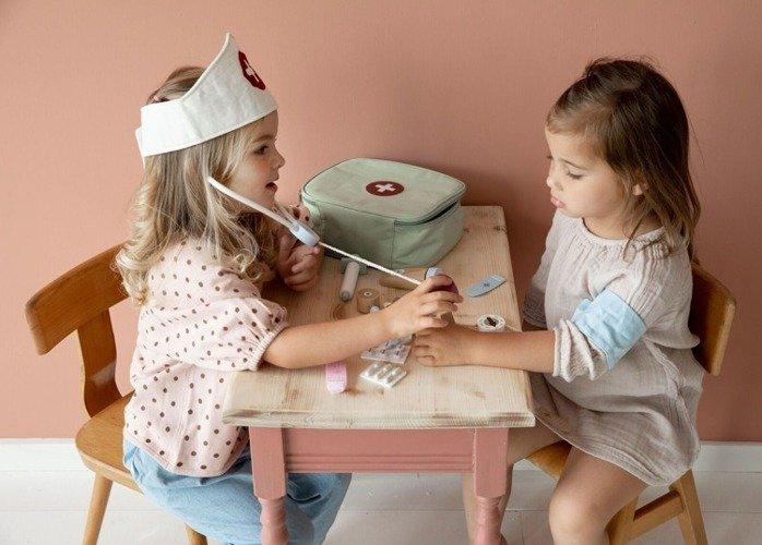 zestaw lekarza dla dzieci little dutch