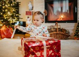 prezent dla dwu letniej dziewczynki