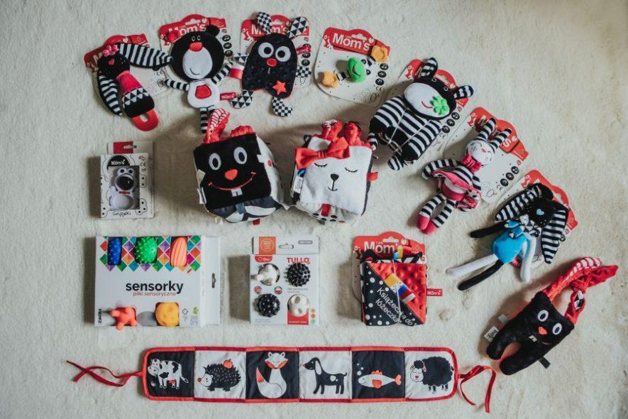 Jaki prezent dla niemowlaka?Zabawki kontrastowe sensoryczne dla niemowląt. prezent na Mikołaja dla niemowlaka
