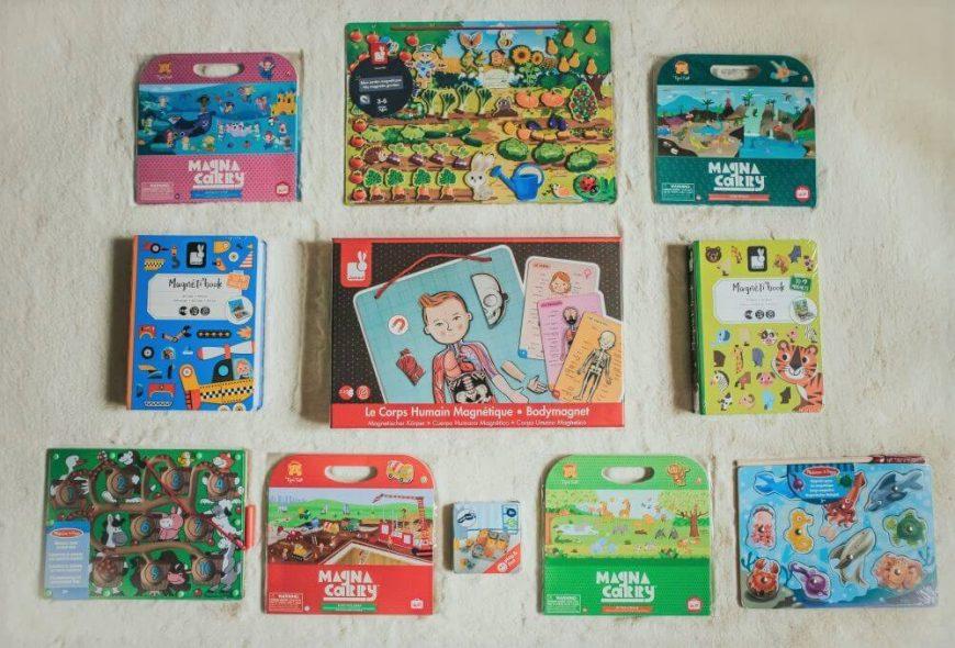 zabawki i układanki magnetyczne dla dzieci, dla przedszkolaków