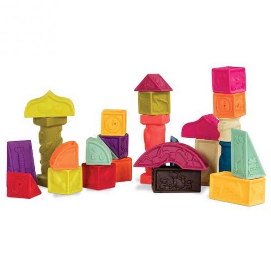 zestaw duży, miętowy B.Toys
