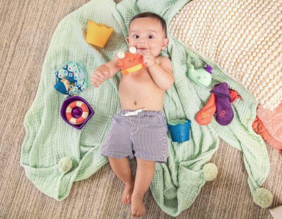 zestaw do kąpieli na prezent B.Toys