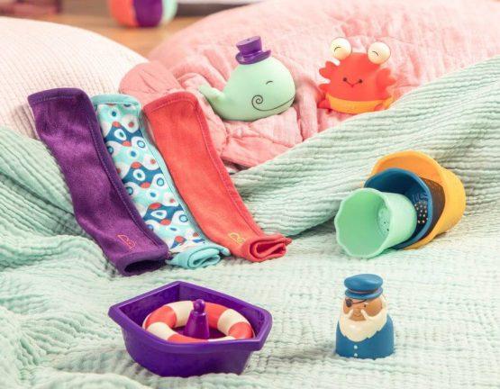 zestaw zabawek do kąpieli , b.toys