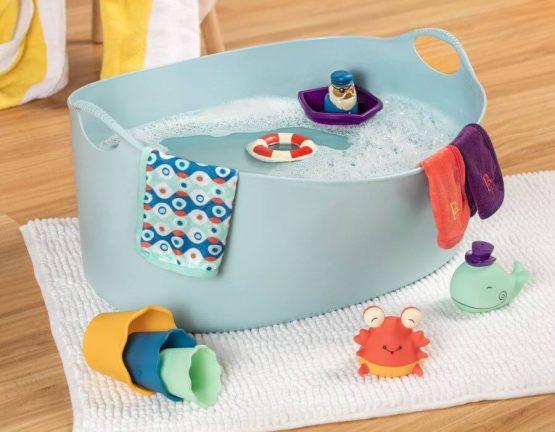zestaw kąpielowy dla niemowląt