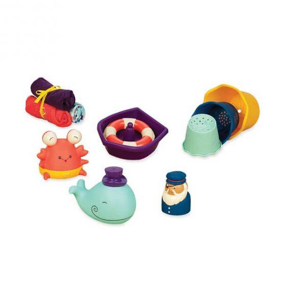 zestaw kąpielowy dla niemowląt B.Toys