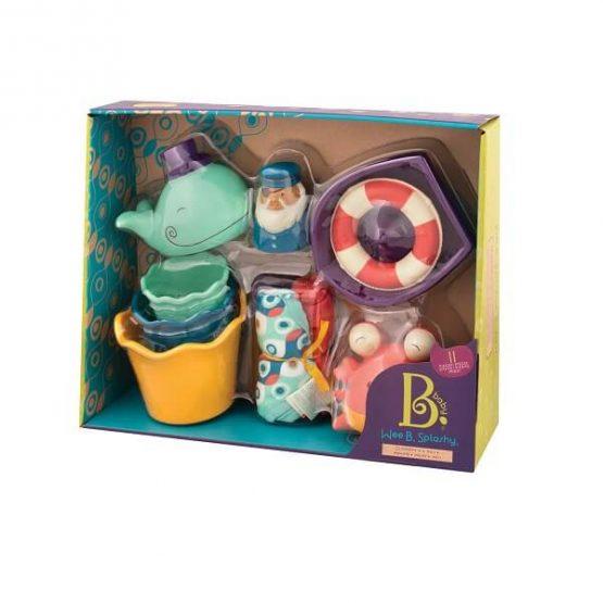 Zestaw kąpielowy dla niemowląt (B.Toys)