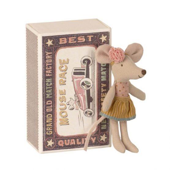 Myszka młodsza siostra w pudełku (Maileg)