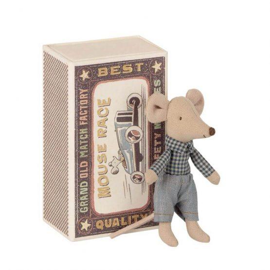 Myszka młodszy brat w pudełku (Maileg)