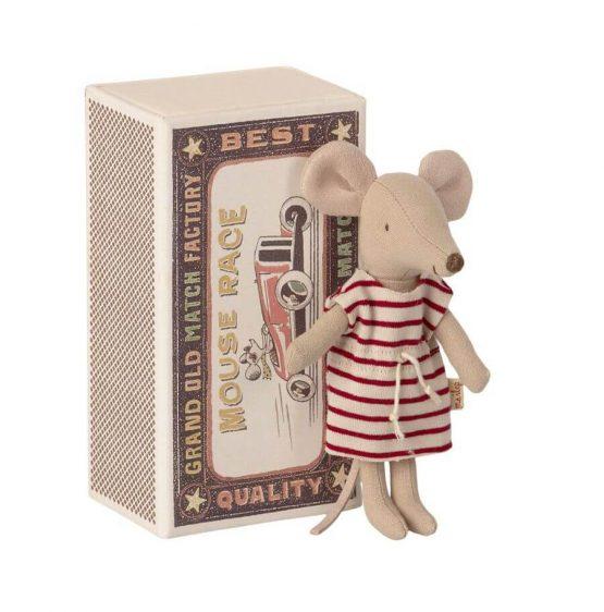 Myszka starsza siostra w pudełku (Maileg)