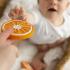 gryzak na ząbkowanie pomarańcza
