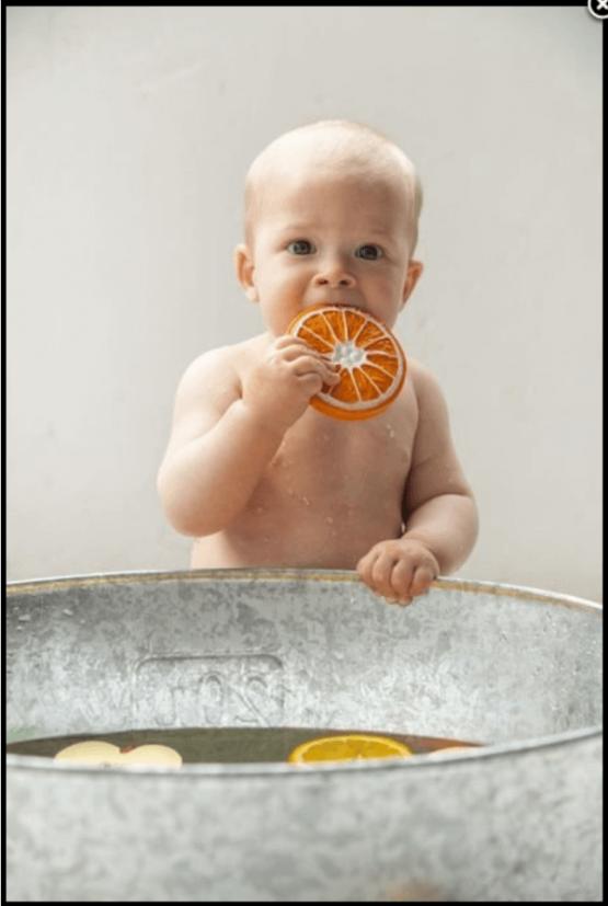 gryzak dla niemowlaka na prezent Oli&Carol