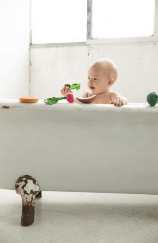 gryzak dla niemowlka wisienka Oli&Carol