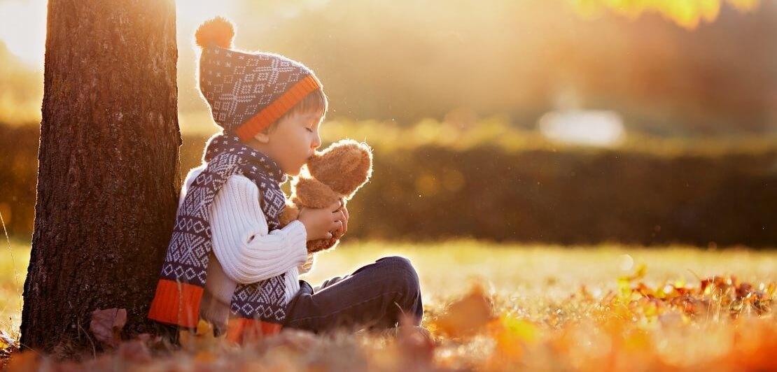 Zabawa z dzieckiem jesienią